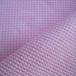 polyester waffle knit