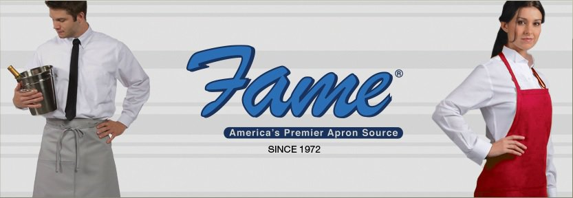 Fame Fabrics aprons and chef coats Tacoma Bellevue Beaverton