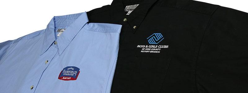 embroidery dress shirts puyallup tacoma wa