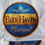 Four color process screen printed t-shirt - Beer Haven logo, final product, Seattle