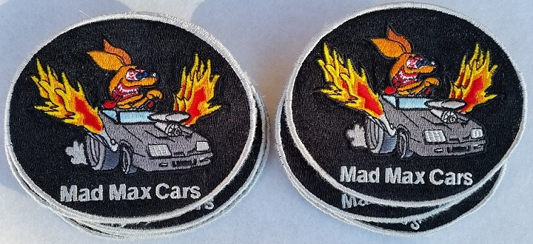 patch embroidery - small order photo for Seattle Kent WA client