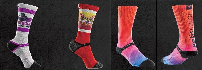 custom screen printed team socks - Seattle, Bellevue, Redmond