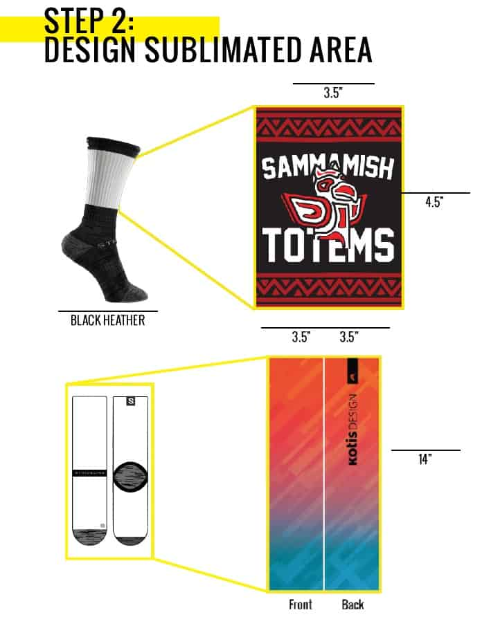 custom dye sublimated sports socks - Santa Clara, Cupertino, CA