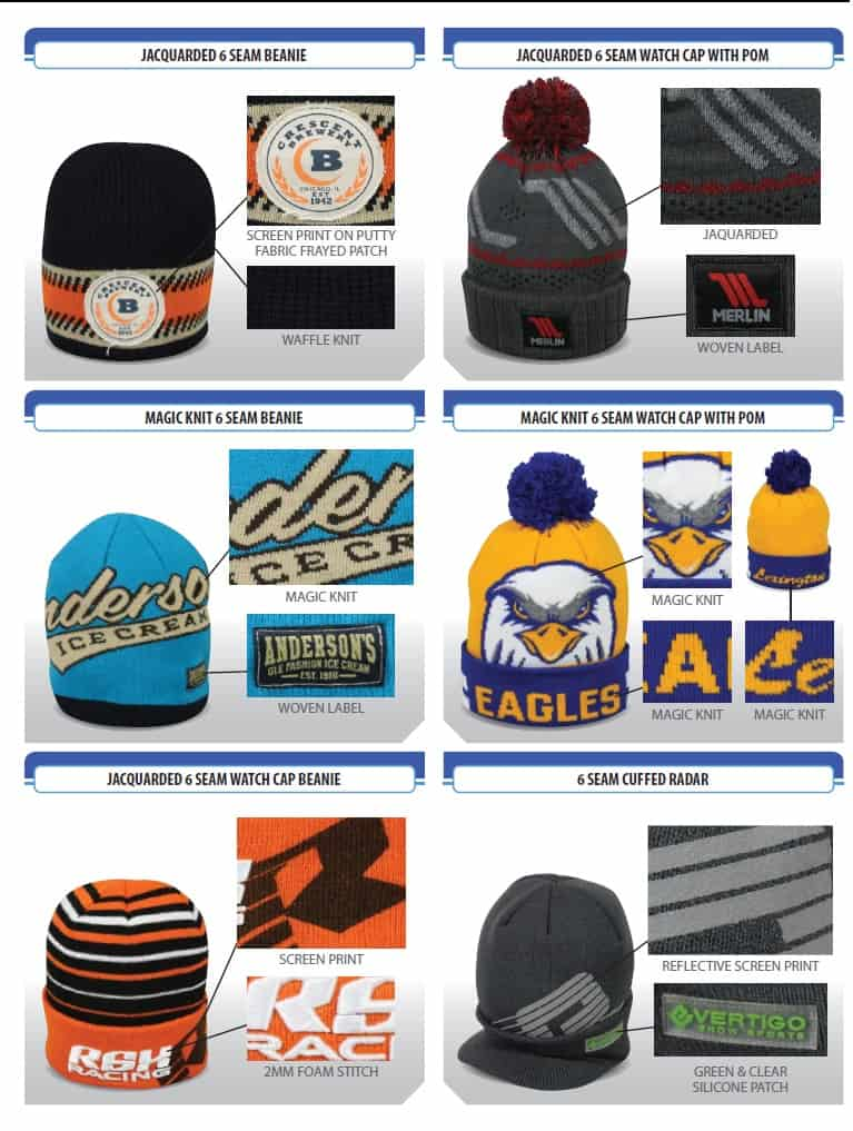 custom cold weather knit cap options - Renton, Tukwila, SeaTac, Kent WA