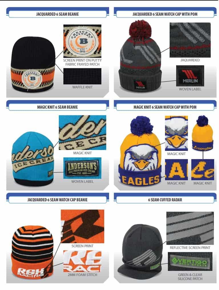 d2cf4bacceb custom cold weather knit cap options - Renton