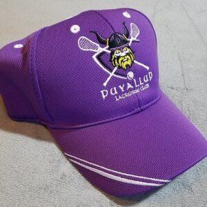 Image of purple Puyallup Vikings Lacrosse hat