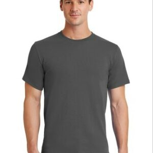 image of model wearing PC61 Charcoal tee