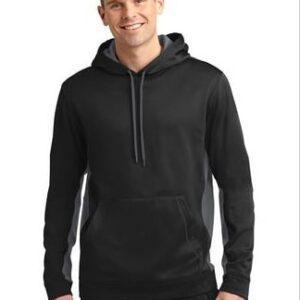 Image of model wearing black/grey ST235