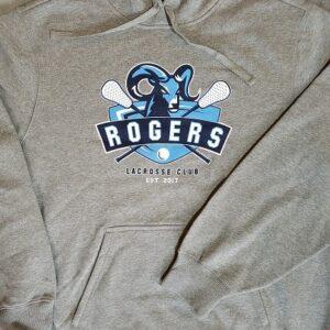 Image of gray screen printed ST254 hoodie - Redmond, Issaquah