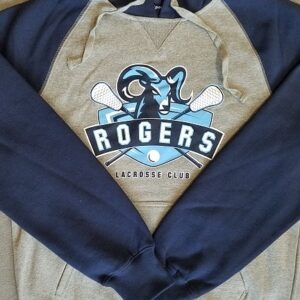 Rogers Lax Screen Printed Hoodies