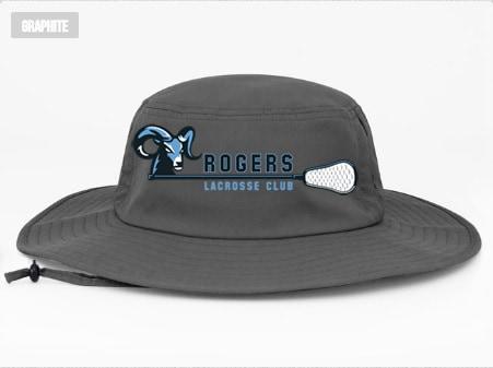 Image of embroidered boonie hat graphite - Bellevue Issaquah dc81cf058ec