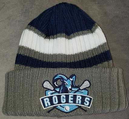 Image of two-tone embroidered New Era beanie - Rogers