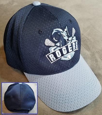 Image of custom embroidered two-tone team caps - Auburn, Kent, WA
