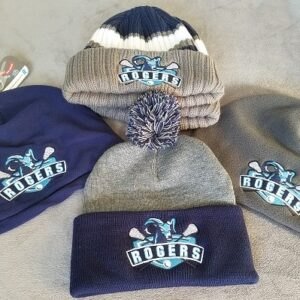 Rogers Lax Embroidered Beanies