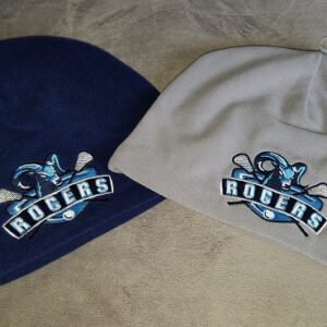 Image of Rogers Lax embroidered fleece beanies