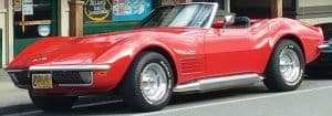 Photo of vintage little red Corvette Stingray - Seattle