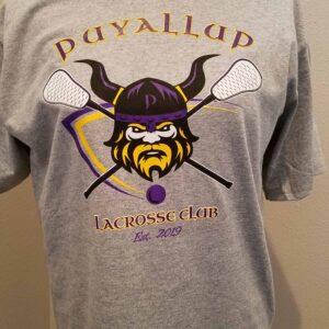 Image of Puyallup Vikings Lacrosse Sports T-shirt