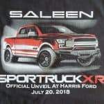 image of Saleen truck printed with simulated process printing   Redmond